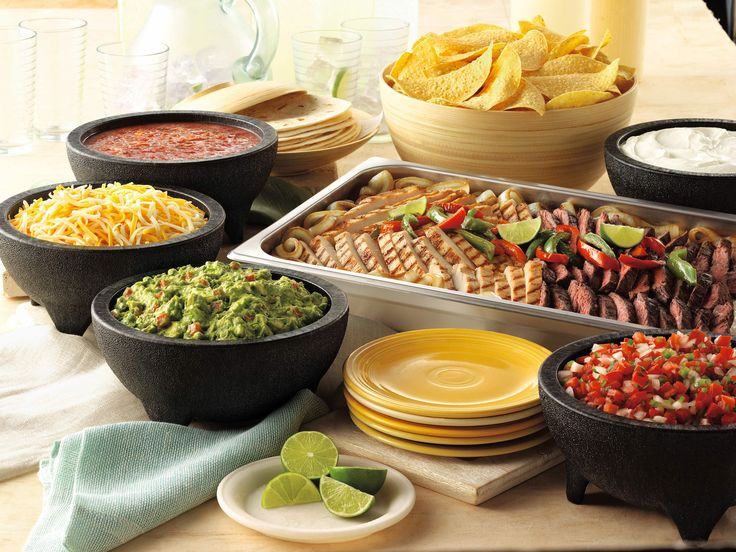 Wednesday Dinner Mexican food recipes, Party food buffet