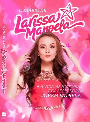 Capa do livro da Larissa Manoela