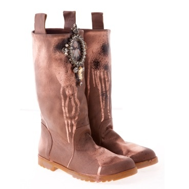 These boots are made for walking#leatherbronze#boots#2B	http://www.sassas-dresscode.com/product.asp?catid=113