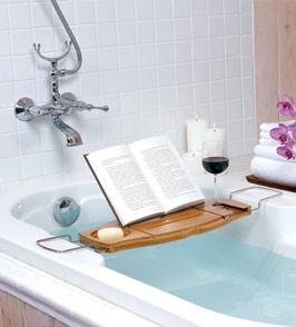 parfait!: Wine, Ideas, Gift, Aquala Bathtub, Bathtubs, Book, Bathtub Caddy, Bathroom, Products