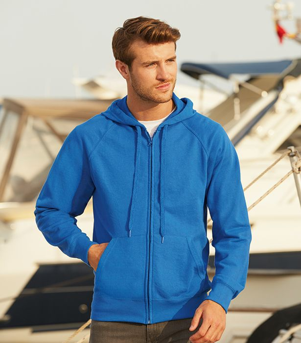 LIGHTWEIGHT HOODED SWEAT JACKET   http://www.connex.no/gensere-hettegensere-hettejakker-og-joggebukser.html  #HOODIE #connexpromotion #connex #fruitoftheloom