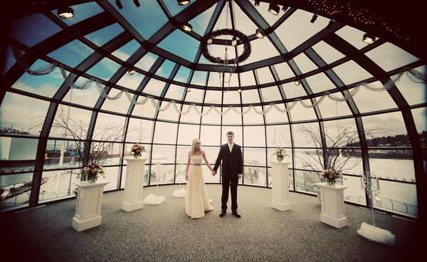 4 Downtown Seattle Wedding Venues We Love on Borrowed & Blue.  Photo Credit…