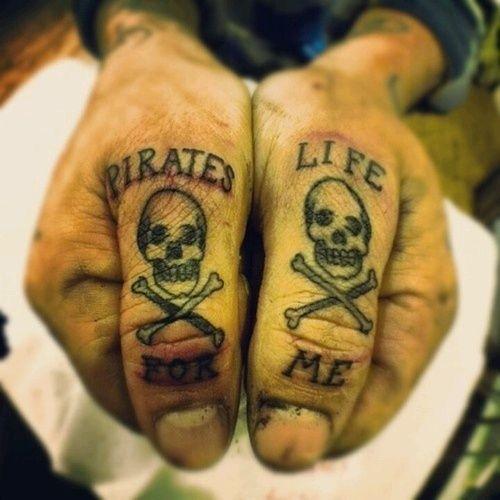 #Tattoos #Tattoo  #Pirate