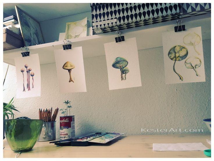 Exhibition in Copenhagen © kesterart.com   Kirsten K. Kester
