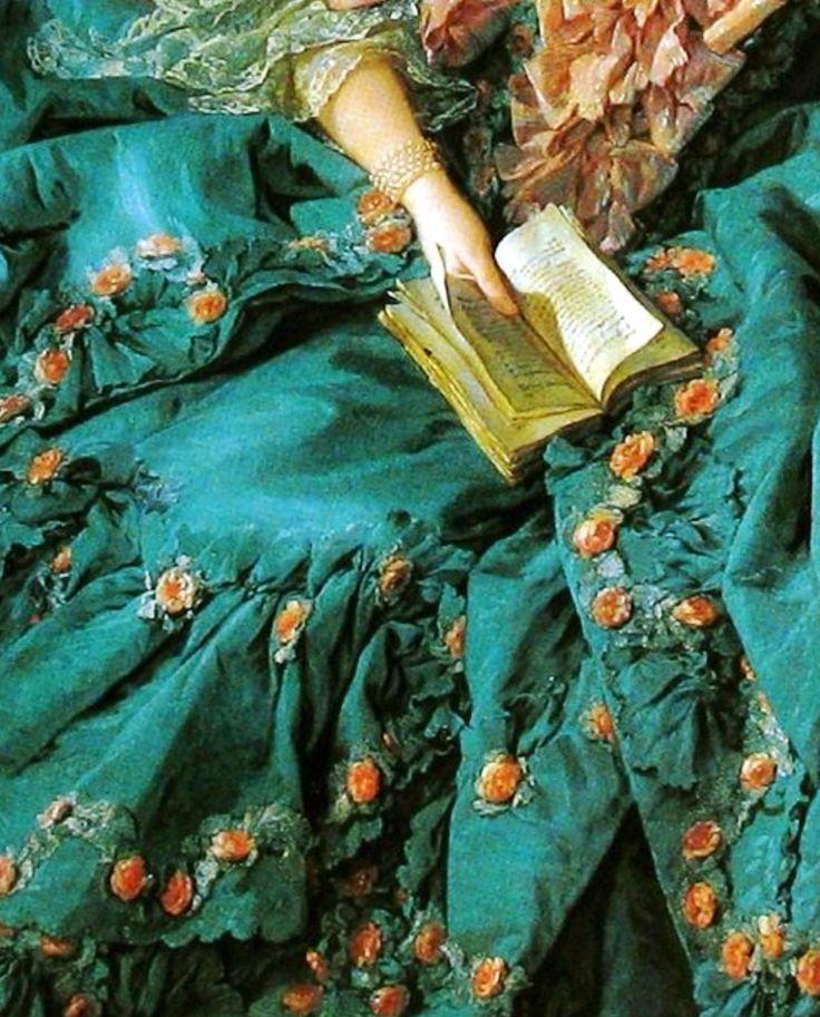 Madame de Pompadour -detalle -