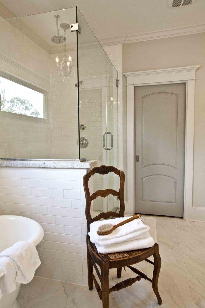 Give Your Bathroom Spa-like Details: It only takes a few elements to turn your bathroom into a retreat! www.cedarhillfarmhouse.com