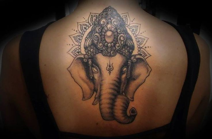 #ganeshatattoo realizada x emiliano eme en time tattoo, los esperamos a todos en olavarria 2831, mar del plata !!