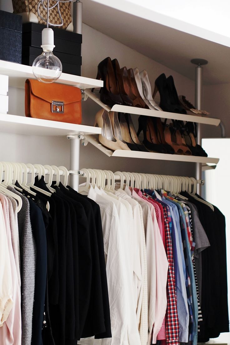 109 best images about dressing room inspiration on pinterest walk in closet clothes racks and. Black Bedroom Furniture Sets. Home Design Ideas