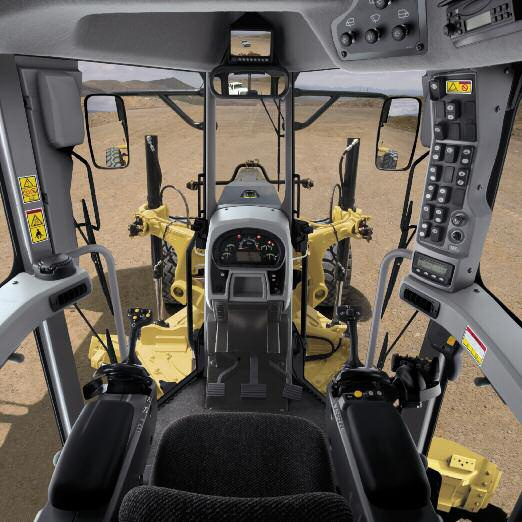 cat moter graders m series | CATERPILLAR 16M Graders Motor Graders Joystick Operator Controls ...