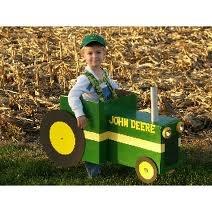 john deere tractor costume @Jamie Peterson Warner...this needs to be Jared's Halloween