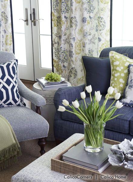 Fabrics, Window Treatments, Furniture, Bedding, Fabric by the Yard, Custom Decorating, Calico Corners � Calico Home.