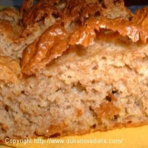 Perfektný Dukanov chlebík