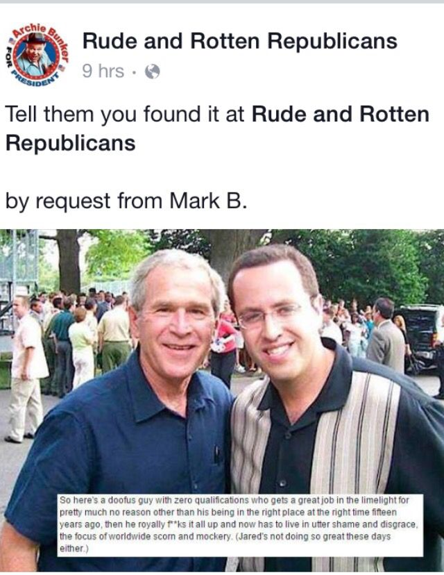 """Here we have yet another Republican Involved in a """"Seedy, Sleazy, Slimy Sex Scandal. They just keep coming!! The Republican Party is being Unmasked as the Biggest Lying Hypocrites and Racist in Washington. The days of the Grand Ole' Party are gone!! Now they've got Jared from Subway, Josh Dugger and The Donald as party members!! Rotten Republicans!!"""