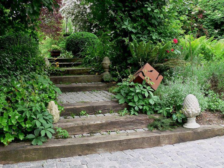 Gartentreppe - Wohnen und Garten Foto