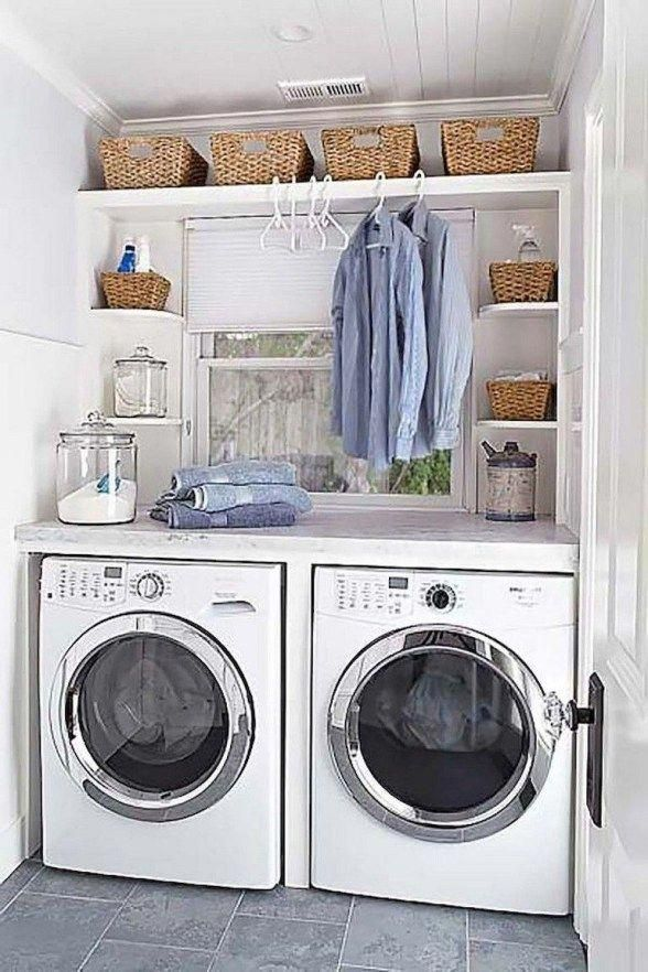 Best Small Laundry Room Decorating Ideas To Inspire You 82
