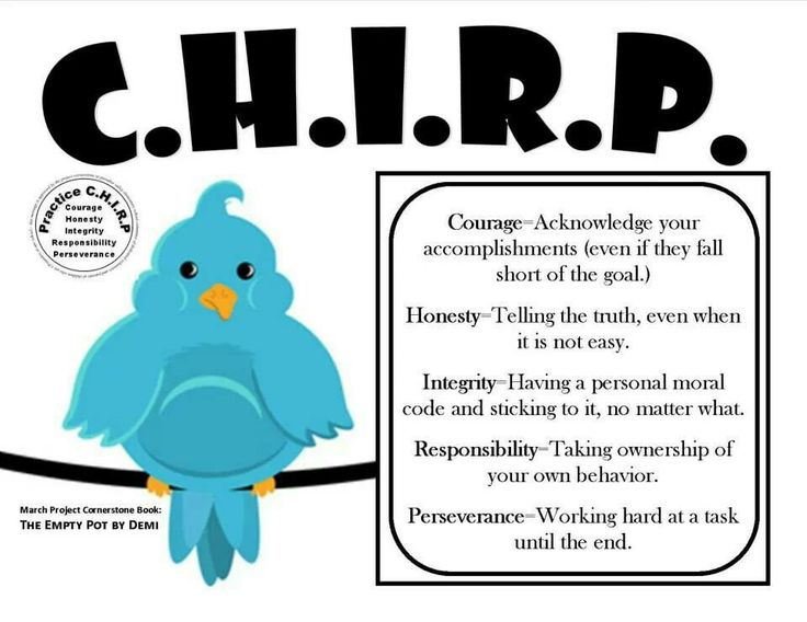 C.H.I.R.P. Project Cornerstone/the Empty Pot