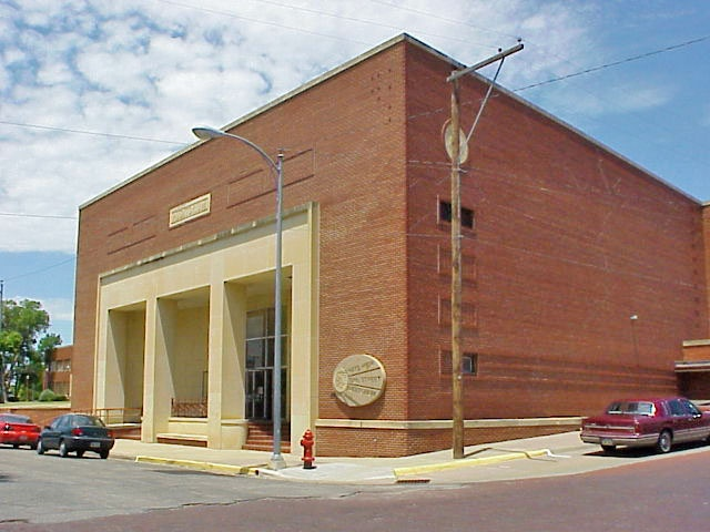 """12 Street Auditorium - This facility is used for numerous events through out the year including the Hays Arts Council """"Famous Figures"""" Competition and Hays High Musicals"""