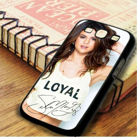 Selena Gomez Smiley Signature Samsung Galaxy S3 Case