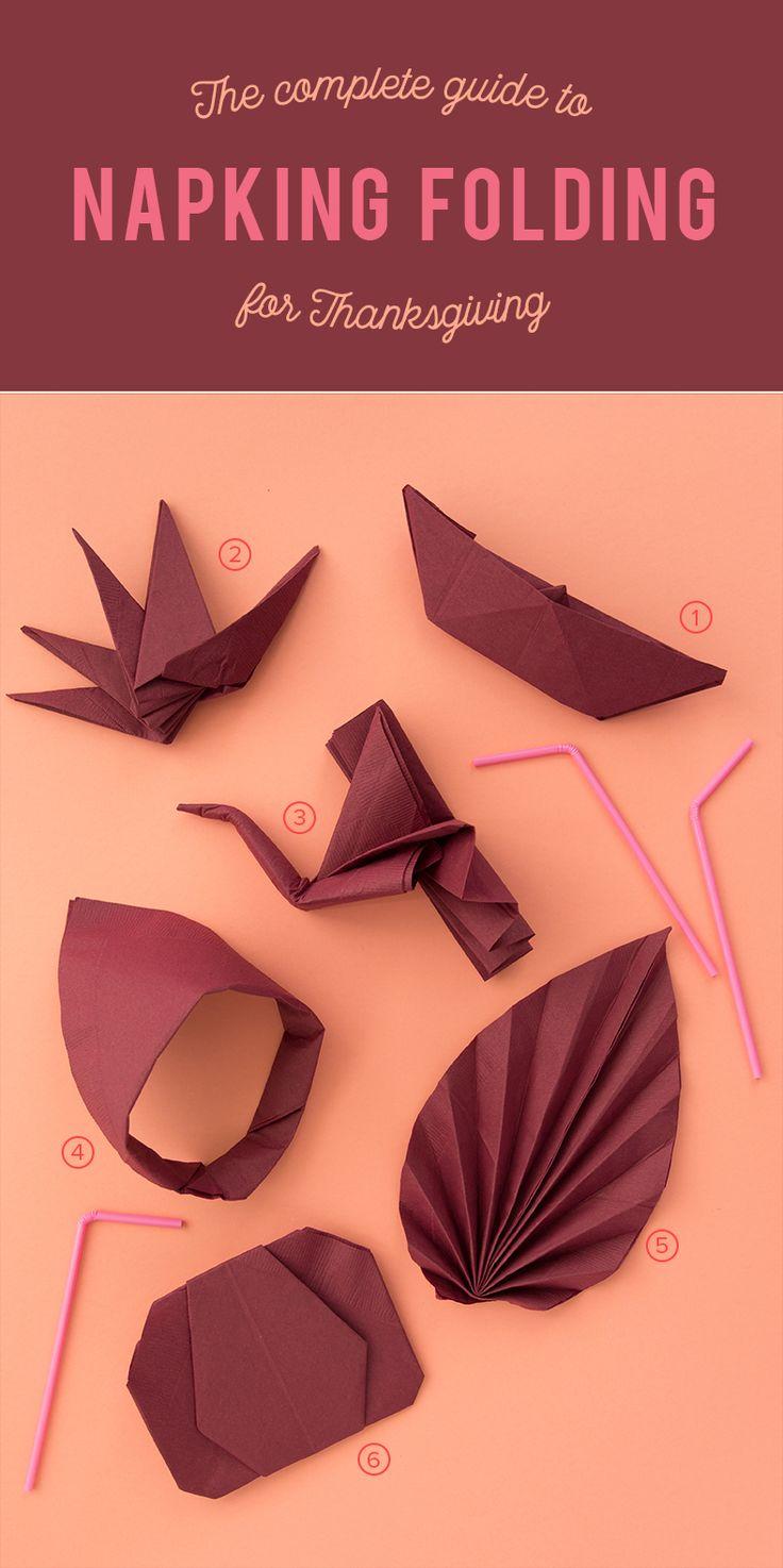 Best 25 Thanksgiving napkin folds ideas on Pinterest Napkin