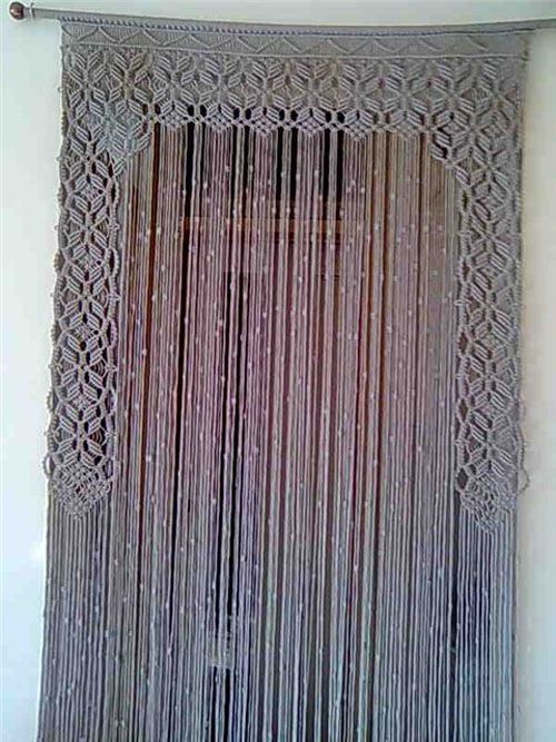 17 Best Ideas About Macrame Curtain On Pinterest How To