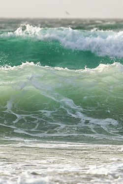 frothy waves ~ fabulous!
