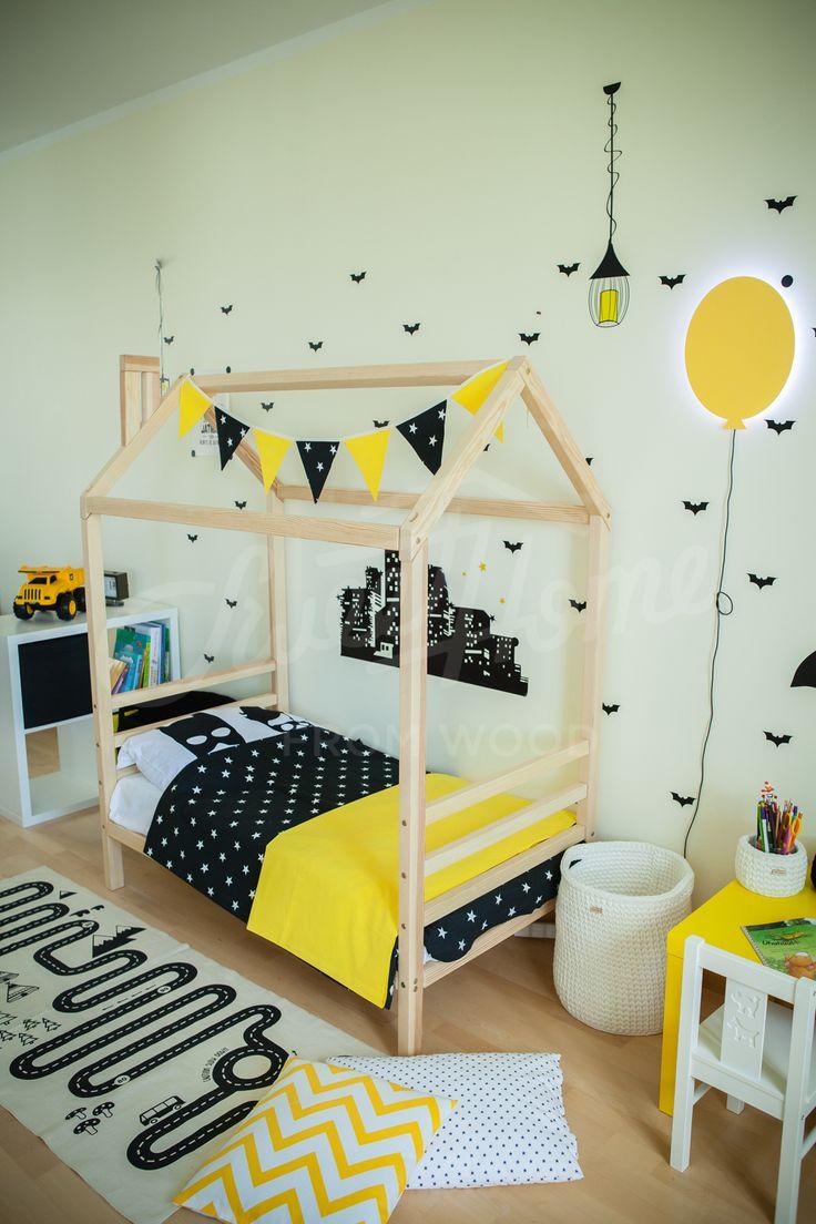 Kid nursery frame bed for children Nursery bed Montessori