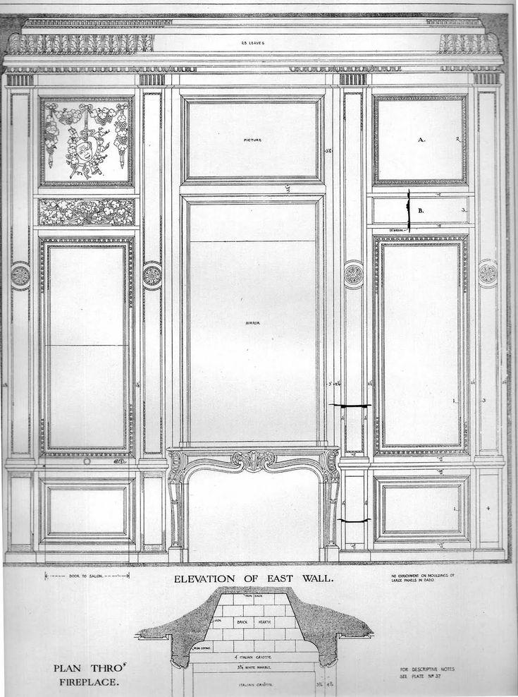 Petit Trianon: the small salon   Art Architect