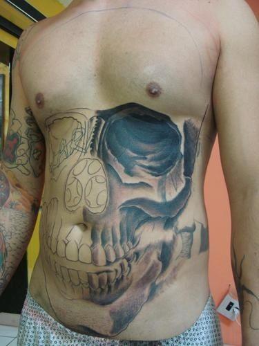 3D Skull Tattoo | Skull tattoos | Pinterest | Skulls, 3d ...