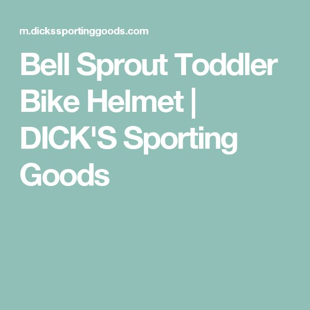 Bell Sprout Toddler Bike Helmet | DICK'S Sporting Goods