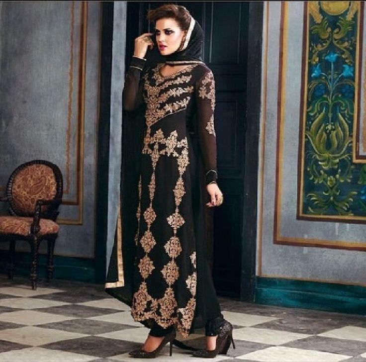 Designer Anarkali Salwar Kameez Suit Pakistani Traditional Indian Bollywood #NA #SalwarKameez