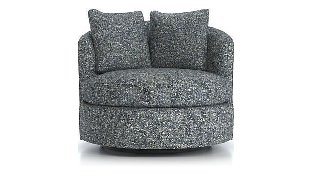 Stupendous Tillie Swivel Chair Reviews Crate And Barrel Dining Uwap Interior Chair Design Uwaporg