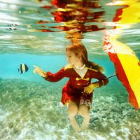 more underwater photography fun...pikaboo by elena kalis