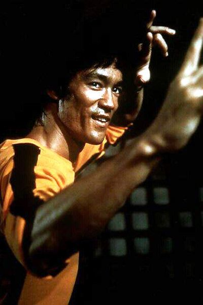 It's the spirit with which we should all approach a workout! ; )   Mr. Bruce Lee.