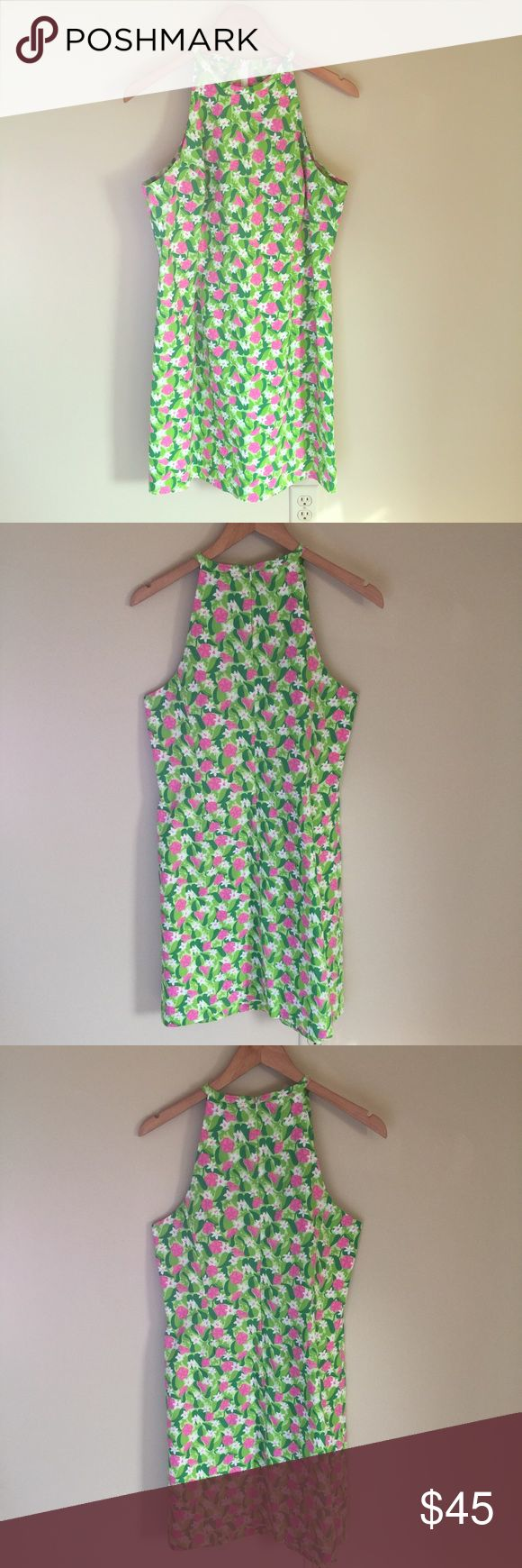 """Lilly Pulitzer Dress Size 8 Beautiful lilly Pulitzer dress. Excellent condition. Please measure before purchasing and let me know if you have any questions or additional info needed   Armpit to armpit: 17""""  Armpit to bottom: 27"""" Lilly Pulitzer Dresses"""