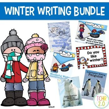 This bundle contains 6 different writing units that can be used during the winter season. Informative Writing: Arctic Animals