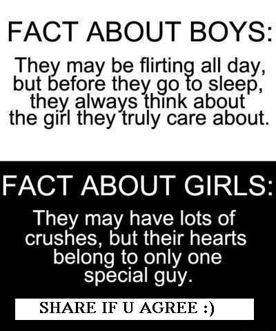 Facts about boys and girls in the end....