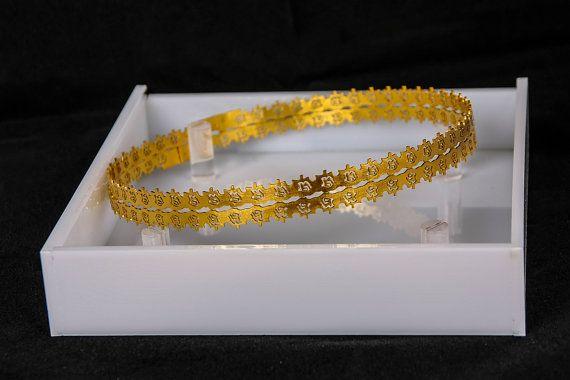 Stefana & Stefanothiki / WEDDING CROWNS / Stefana Gamou / Στεφανα Γαμου / Orthodox Wedding Crowns / Stefana / Greek Crowns / Gold Roses