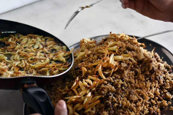 Authentic Syrian Mujadara Recipe
