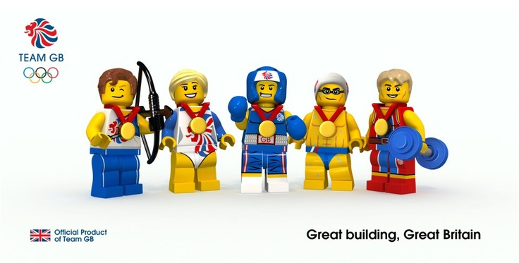 Lego Team GB.