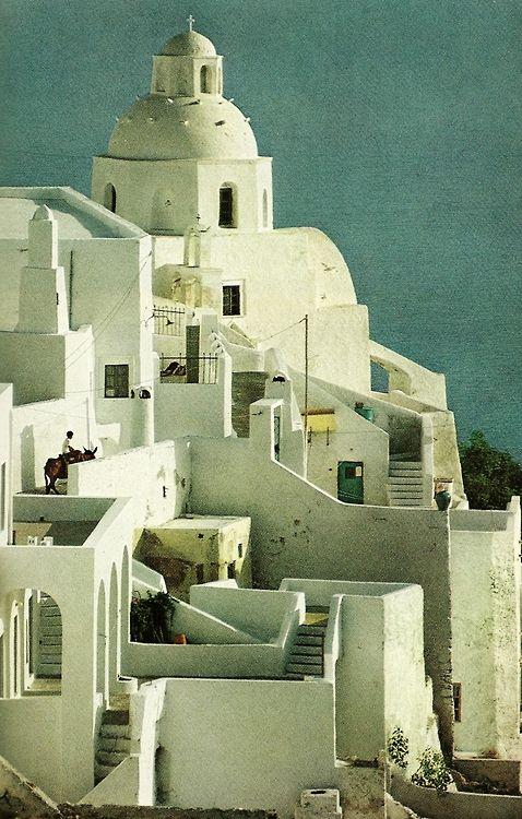 akapearlofagirl - vintagenatgeographic: Buildings on the Greek...