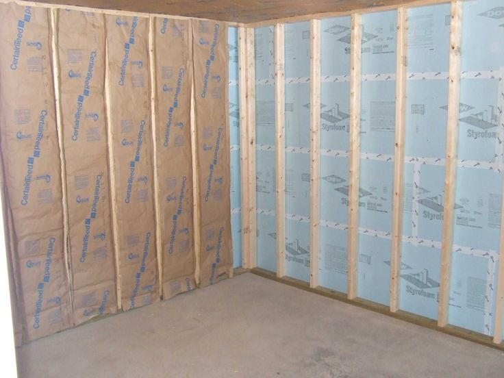 The key to successfully insulating basement walls is selecting insulating materials that stop moisture movement and prevent mold growth. Basements are the perfect location for foam type insulation products.