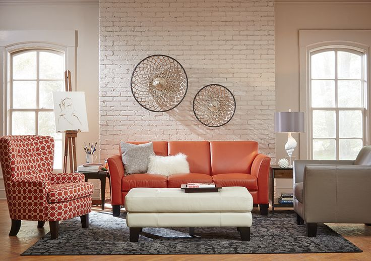 Devito Cayenne Sofa This 100 Leather Sofa Features Stylish Arms And Comes In Three