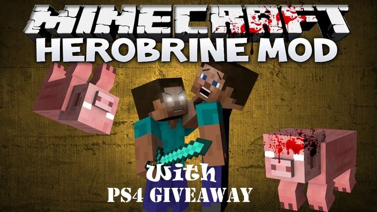 Herobrine mod minecraft mods with ps4 giveaway