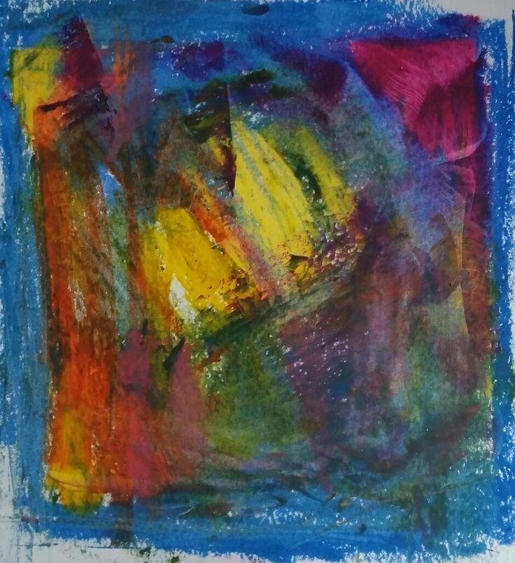 Enjoy Series N. 1 Abstract art by Barbara Reale #abstractart #abstractlandscapepainting  #abstractartist  #colorfieldpainting #contemporaryabstractart  #contemporaryart  #intuitiveart #abstraction  #homedecor #abstractpainting  #abstractsartwork #artwoekonpaper #artonpaper #abstractlandscape  #happyartistmovement  #creativity  #gesturalabstraction #womenartist