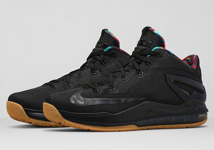 Nike LeBron 11 Low Black/Gum... Probably the cleanest low color way I've seen in a while
