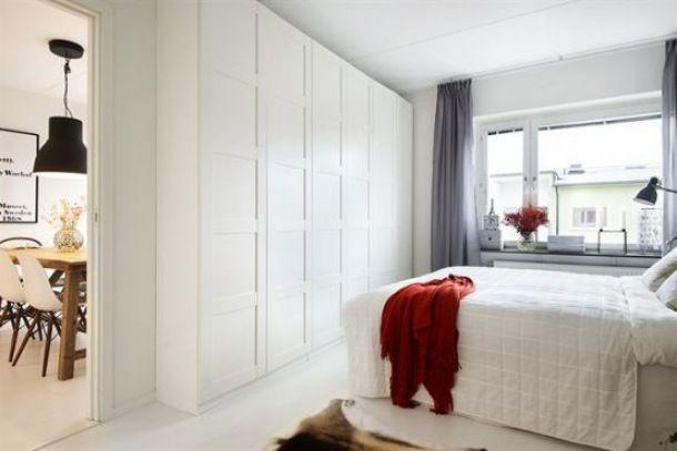 piękne mieszkanie skandynawskie z akcentami etnicznych dekoracji