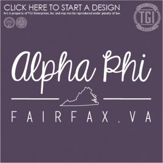 Alpha Phi   AΦ   PR   Sorority PR   PR Shirt   TGI Greek   Greek Apparel   Custom Apparel   Sorority Tee Shirts   Sorority T-shirts   Custom T-Shirts