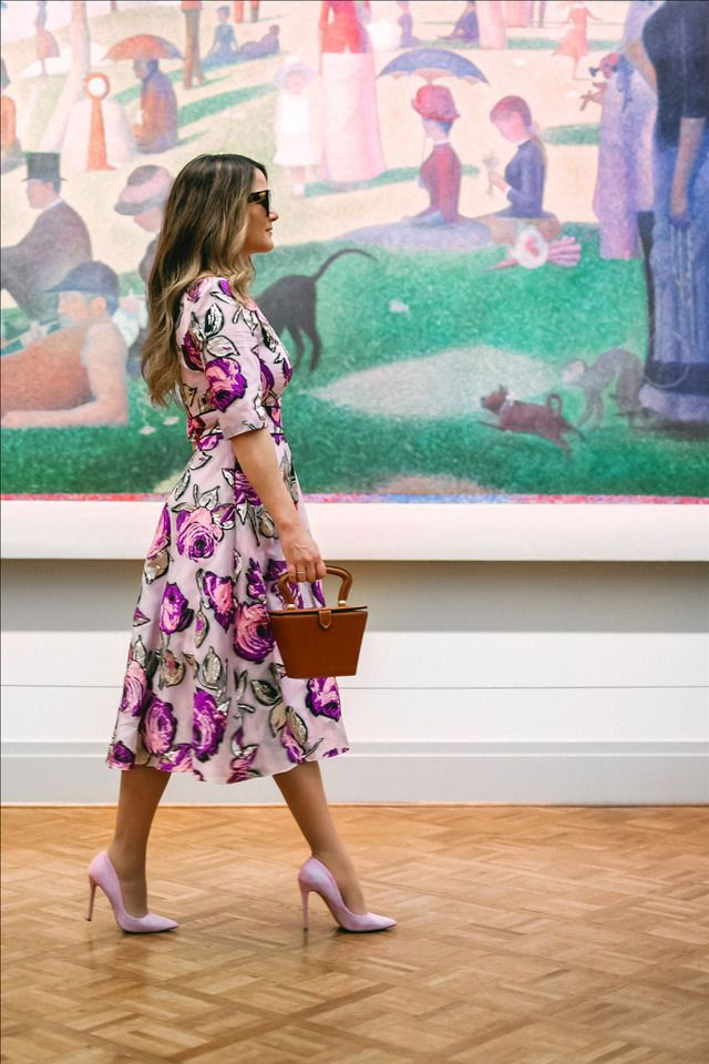 Pin By Vanessa Leslie On Dresses In 2020 Purple Floral Dress