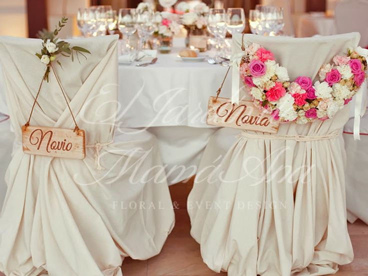 36 best images about sillas novios on pinterest bodas head tables and lime green weddings - Sillas para bodas ...