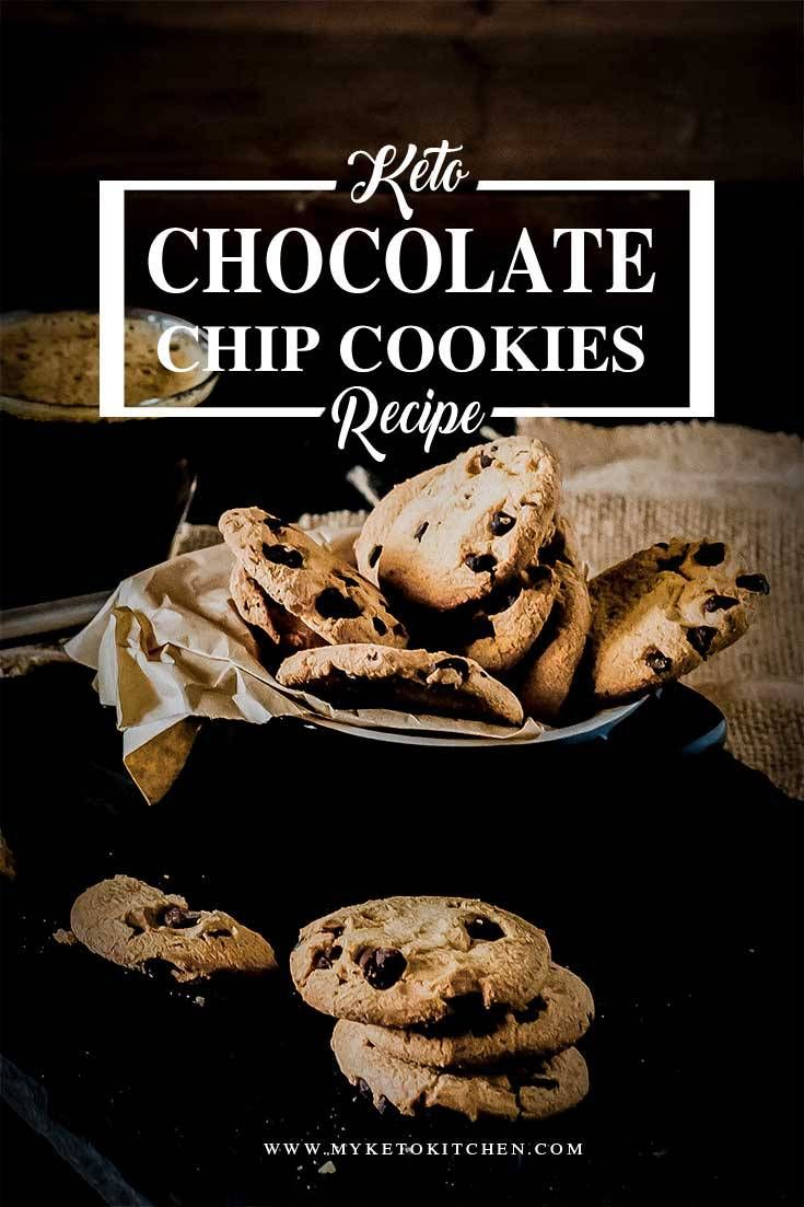 Keto Chocolate Chip Cookies Low Carb And Gluten Free 100